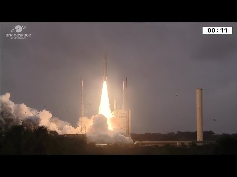 Arianespace orbits four more Galileo satellites as Ariane 5 logs 82nd successful launch in a row