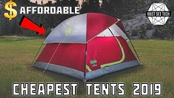 9 Cheapest Tents with the Best Quality to Price Parameters (Camping Gear Review)