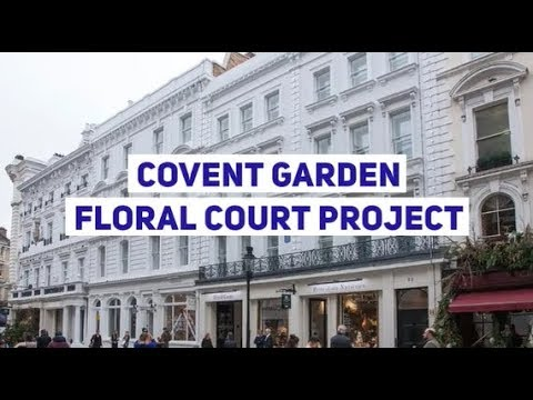 Covent Garden - Floral Court Project Feature | The Safety Letterbox Company