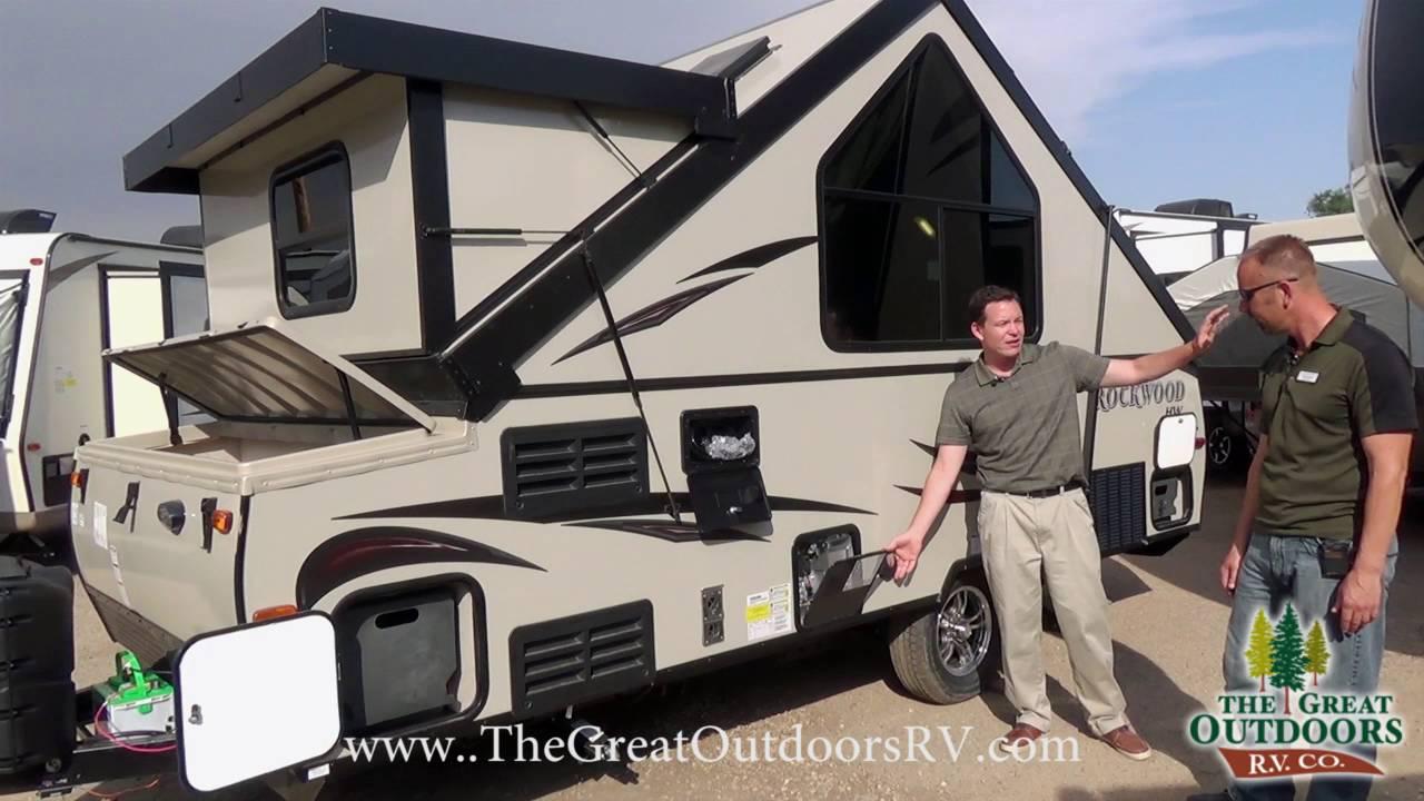 2017 Forest River Rockwood A214hw R993 Youtube