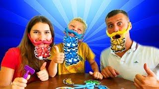 Настольная Игра Битва Бородачей Дети И Родители Устроили Бородатый Челлендж
