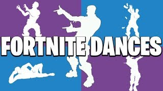 Fortnite Dance Emotes [New game passes!]