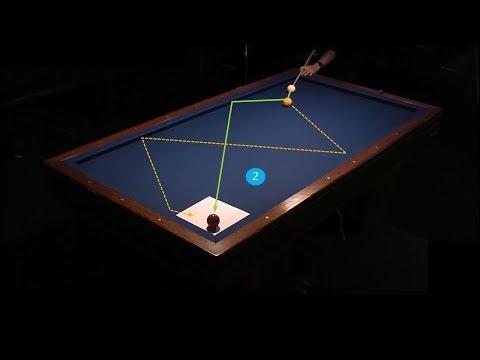 Cách gom bi qua 13 thế bi trực tiếp và 4 pha cule đón - Basic libre Billiards