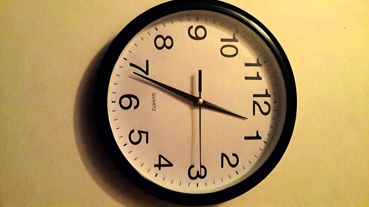 Reloj de pared tipo casio m quina cont nua cero ruido - Reloj decorativo de pared ...