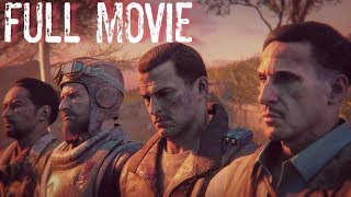 CALL OF DUTY ZOMBIES: THE MOVIE - All Cutscenes (Full Aether Storyline)