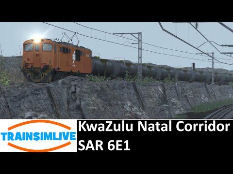 Train Simulator 2015 - Kwazulu Natal Corridor, SAR 6E1