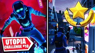SECRET BATTLE STAR? Utopia Challenges Week 10 (Fortnite Season 9)