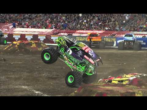 Monster Jam Grave Digger Freestyle Tampa, Florida - February 2013