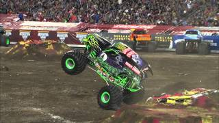 Monster Jam - Grave Digger Freestyle in Tampa, FL - February 2, 2013
