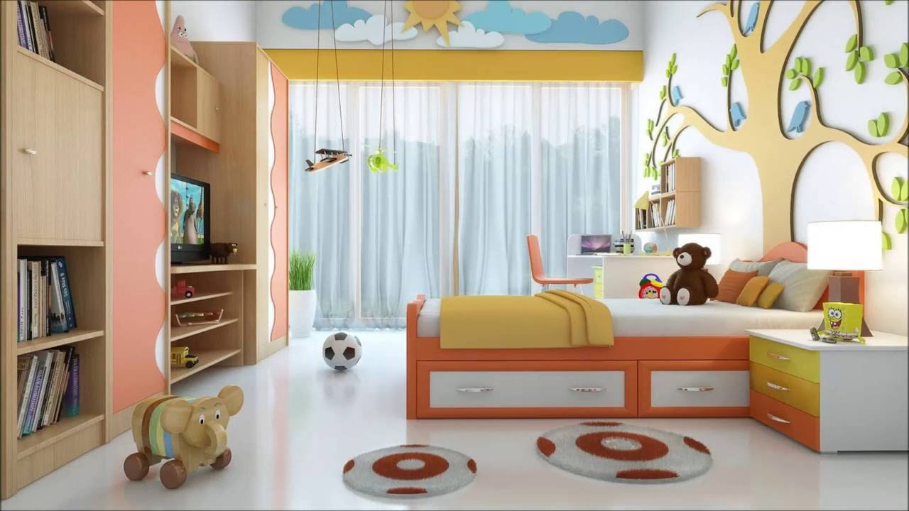 Charmant 30 Most Lively And Vibrant Ideas For Your Kids Bedroom  Plan N Design