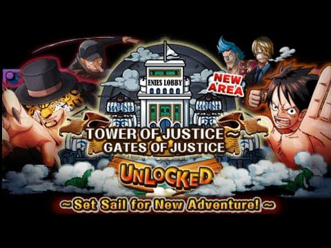 [OPTC-GL] Tower of Justice - Stage 14 (Lucci - QCK) - Enies Lobby Part 2
