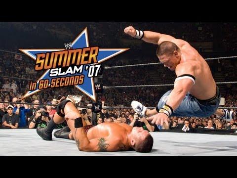 SummerSlam in 60 Seconds: SummerSlam 2007