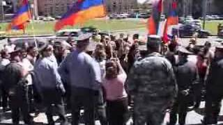 14.05.08   Picket in Yerevan...