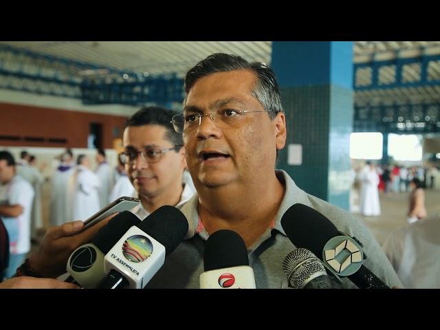 Flávio Dino participa da missa de lançamento da Campanha da Fraternidade 2019