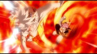 Fairy Tail Natsu Defeats Zeref + Acnologia Death English Sub