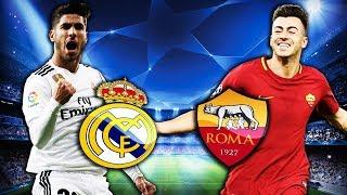 Real Madrid vs Roma | UEFA Champions League | FIFA 19