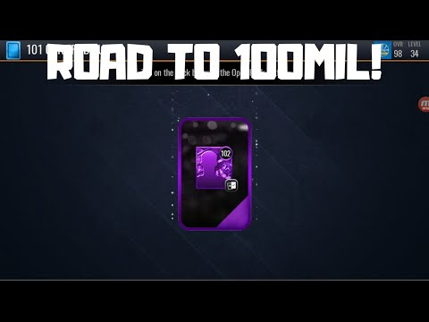 OPENING A 102 SELECT PACK!!! ROAD TO 100 MILLION COINS IN NBA LIVE MOBILE 20!!! EPISODE #5