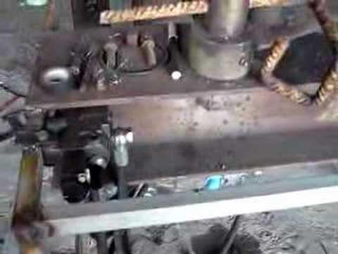 Piegatrice idraulica invenzione cosentino youtube for Piega lamiera fai da te