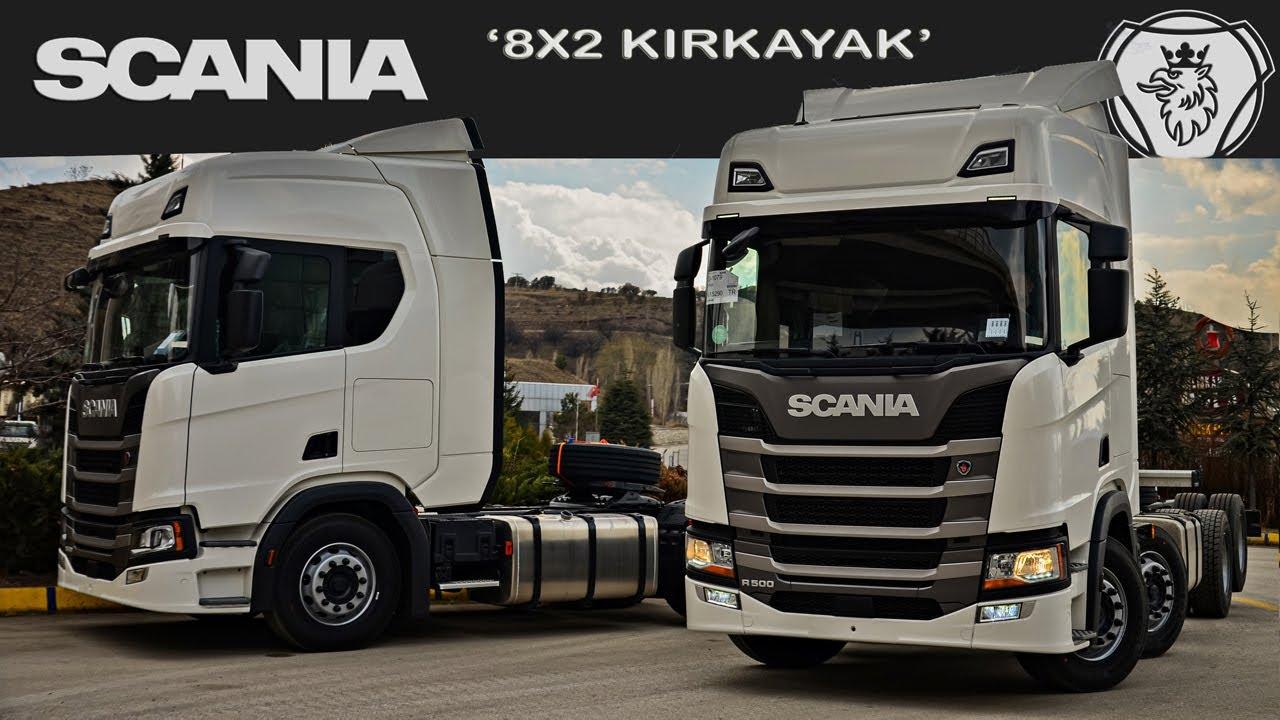 Scania R500 8x2 Kırkayak   İnceleme Videosu   4K