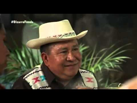 Bizarre Foods with Andrew Zimmern - Oaxaca: Ant Tortillas and Grasshopper Tacos.