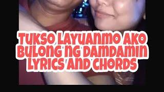 Oh tukso cover, Bulong ng damdamin, with lyrics and chords God gave me you