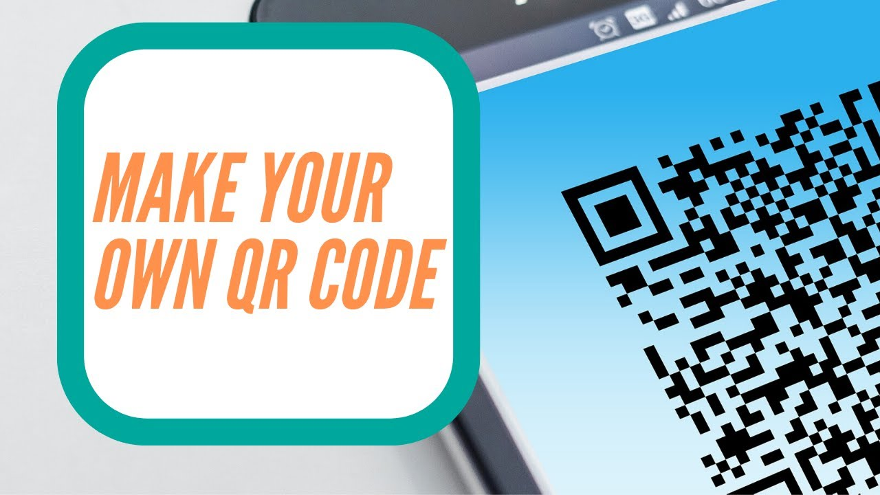 How To Make Your Own QR Code! - YouTube