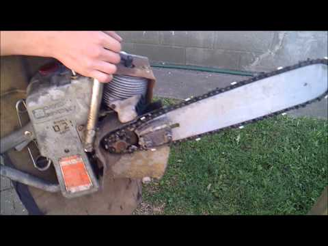 Rare? David Bradley direct drive chainsaw