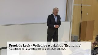 Freek de Leek - Volledige workshop 'Economie'