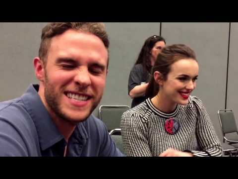Elizabeth Henstridge and Iain De Caestecker  for Agents of SHIELD at Wondercon 2017!