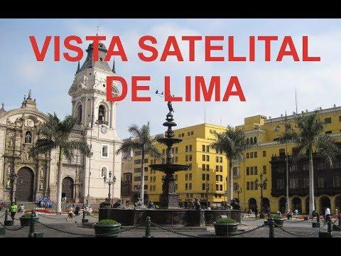 Imágenes Satelitales de Lima Perú