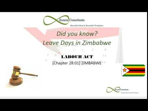 Leave days in Zimbabwe