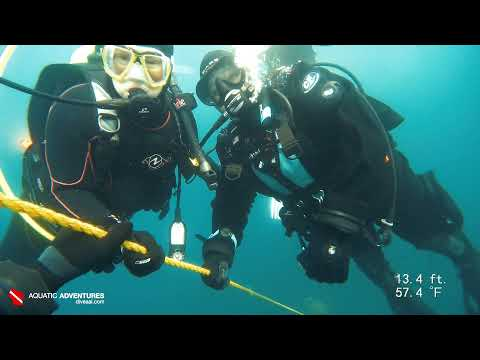 Lake Michigan   How Do You Smile Underwater?