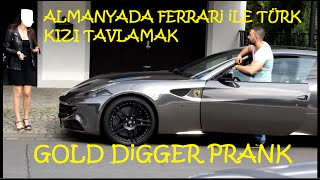 Almanyada Ferrari ile Türk Kizi Tavlama (Gold Digger Turkish in Germany)