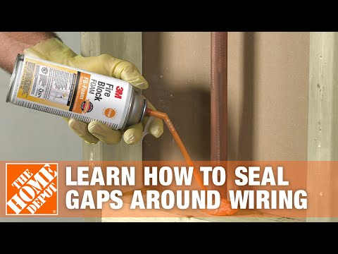 hqdefault learn how to seal gaps around wiring with great stuff fire block