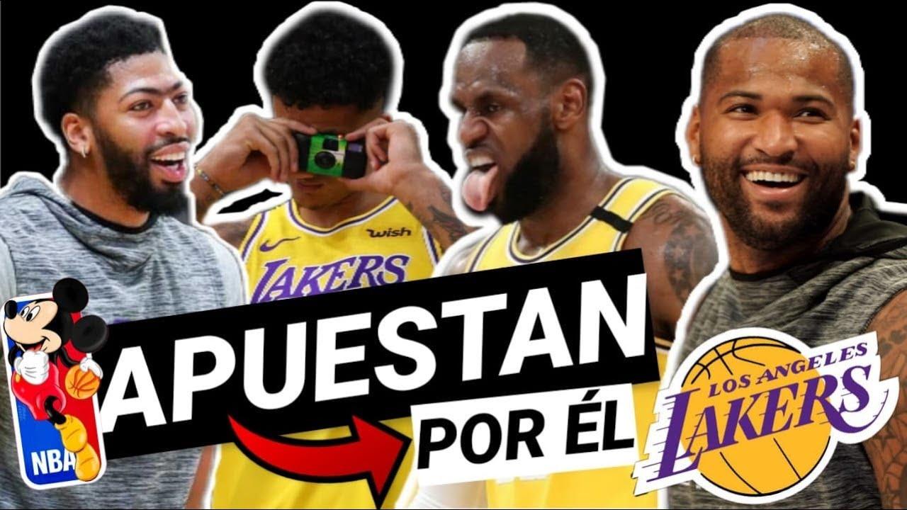 💥ATENCIÓN!!! 😱 LAKERS APUESTA por su FACTOR X en la BURBUJA de DISNEY NBA!!!! 👀