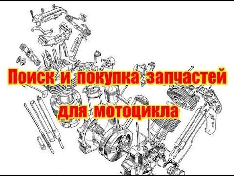 Поиск и покупка запчастей для мотоцикла