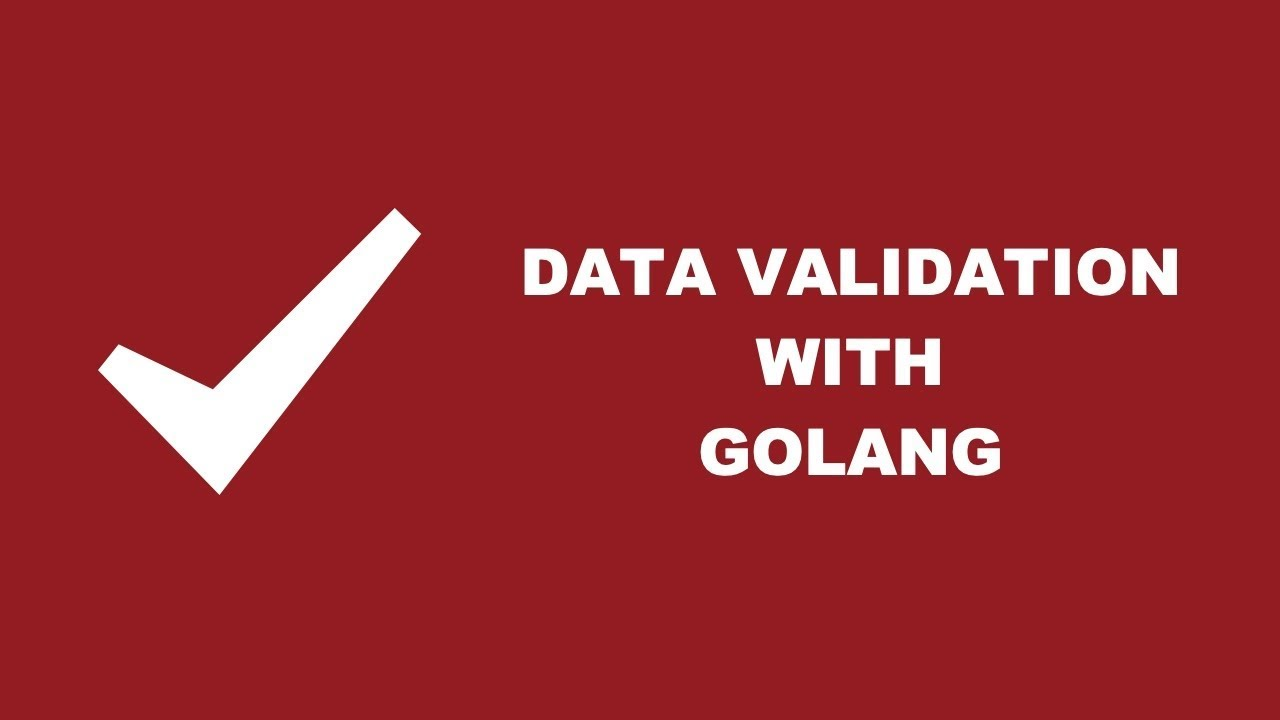 Validating Data Structures And Variables In Golang