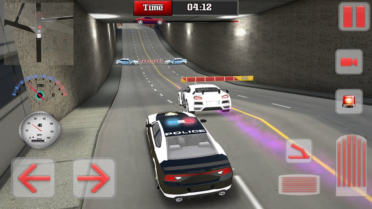 Police Vs Racers Simulator By Mega Gamers Production
