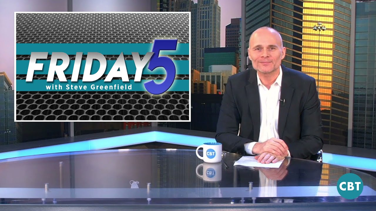 Steve Greenfield and the CBT News Friday Five: Red Hot Automotive Market, KAR Global News, and More
