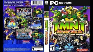 Teenage Mutant Ninja Turtles: Mutant Melee (PC) - All Turtles Gameplay