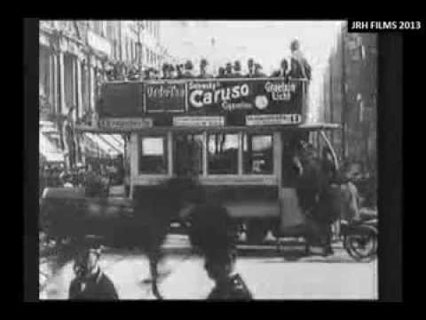 Berlin Street Scenes Beautifully Caught on Film (1900-1914)