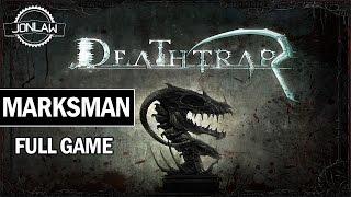 Deathtrap Walkthrough - Marksman Hero - Full Game (1080p 60fps)