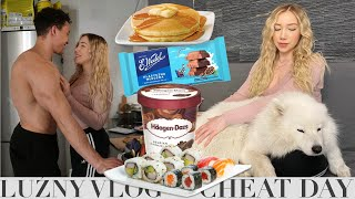 LUŹNY VLOG *CHEAT DAY*
