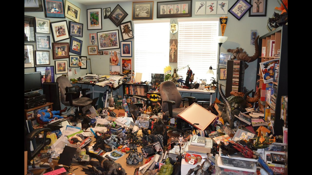 room is a mess I'm not gonna say that i miss my teenage son's messy room, but it never did  bother me as much as it did my husband i was reminded of all that.
