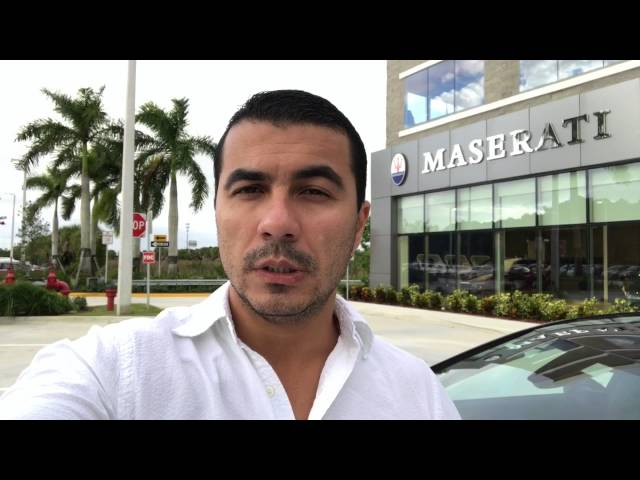 Maserati 2017 pelo preço de um carro comum no Brasil