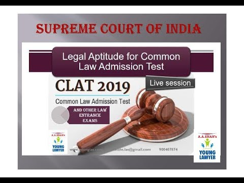 SUPREME COURT OF INDIA | CHIEF JUSTICE OF INDIA | LEGAL APTITUDE For CLAT AILET MH-CET