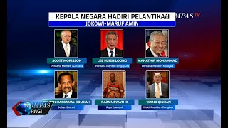 6 Kepala Negara Hadiri Pelantikan Jokowi-Ma'ruf