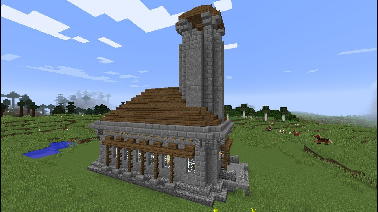 How To Build Minecraft Village Church