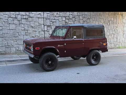 Ford Bronco Maroon for sale