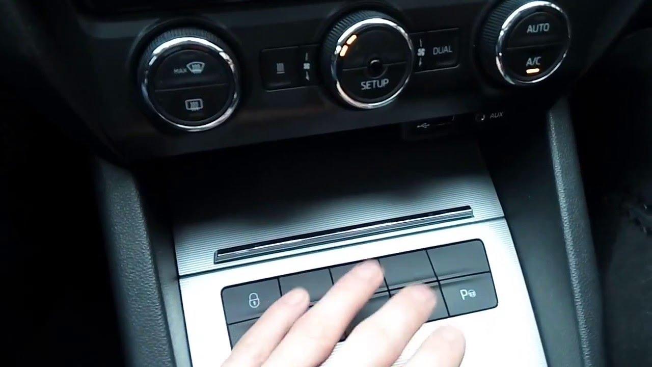 Парктроники на Skoda Octavia A7 - часть 2